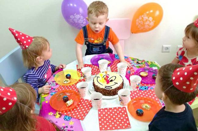 Детский день рождения в Кругу друзей